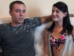 69er position turns the young sex couple on