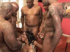 Ebonys fuck at the sex party
