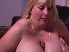 Fat slut with huge tits