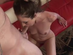 Katie Angel bangs a muscleman